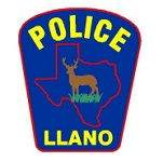 Llano Police Department Badge