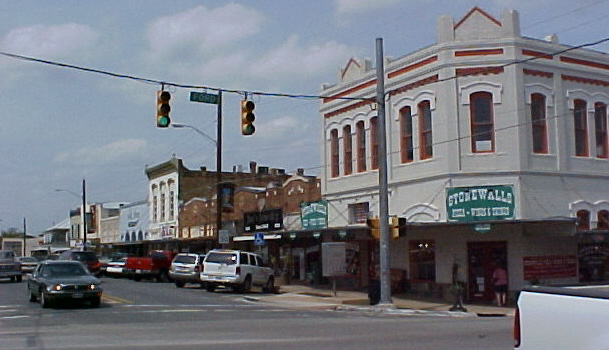 West Main Street of Llano